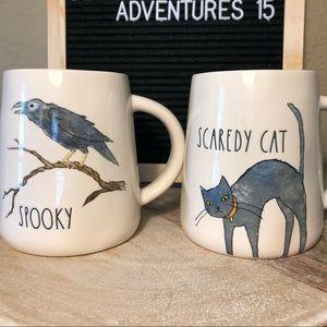 Rae Dunn Halloween Spooky Crow Mug LIMITED 2019